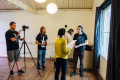 Open Test Film Rehearsal at Create Studios